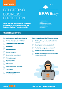 Bolster Business Protection Checklist