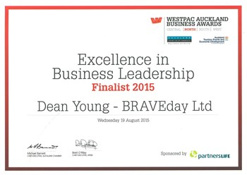 Excellence in business leadership